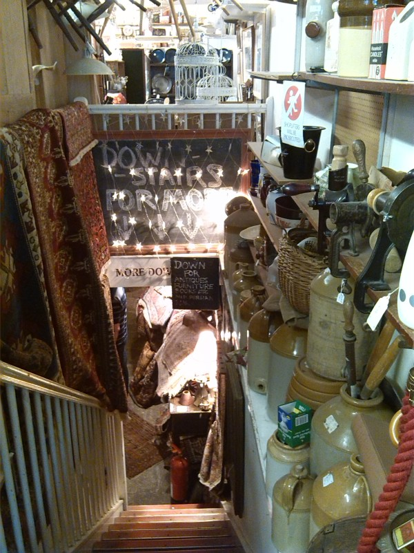 Amazing second hand/antiques shop in Clifton