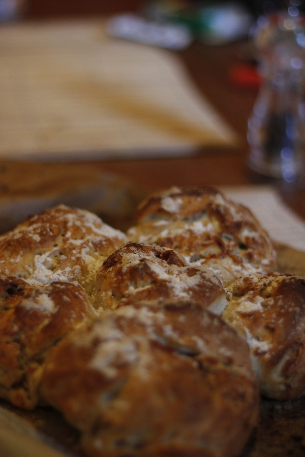 Our bread looks a little craggy next to Hollywood's rolling hills...