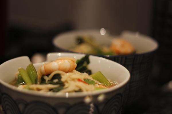 Noodle Soup Done