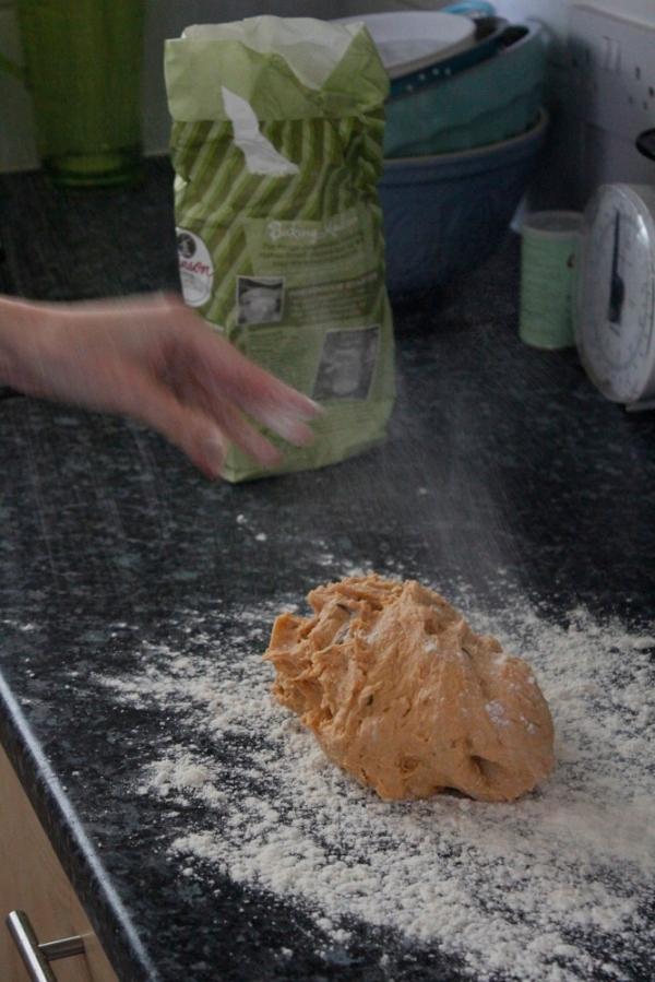 Flour it up!