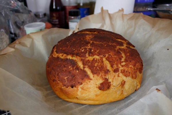Sweet potato bread done
