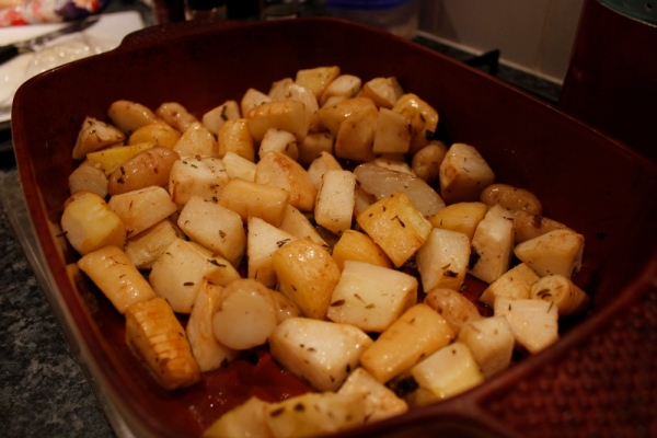 Parsnip and Potatoes