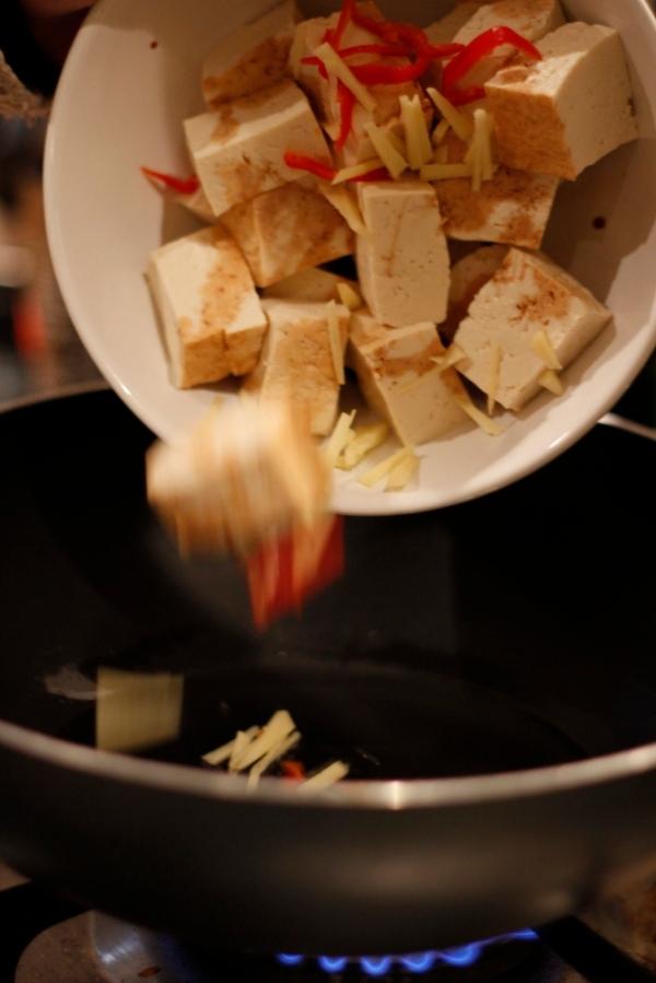 Tofu fall