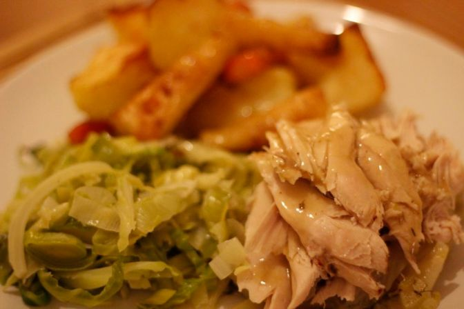White Wine and Fennel Pot Roast Chicken