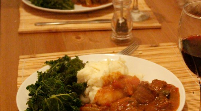 Venison Stew with Red Wine and Juniper