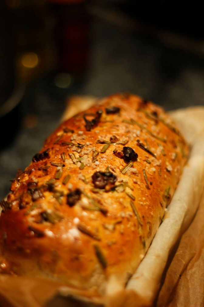 Rosemary and Walnut Bread