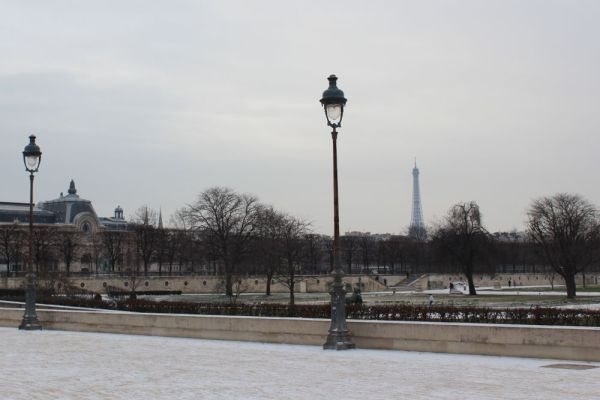 Brrr... Winter in Paris
