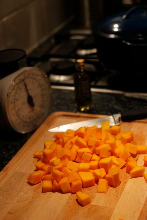 Chopped Squash