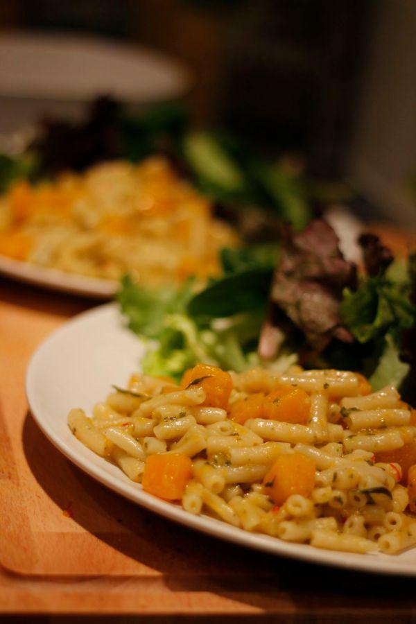 Squash Macaroni Done