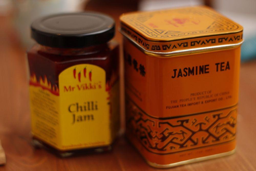 Chilli Jam and Jasmine Tea