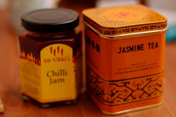 Chilli Jam and Jasmine Tea