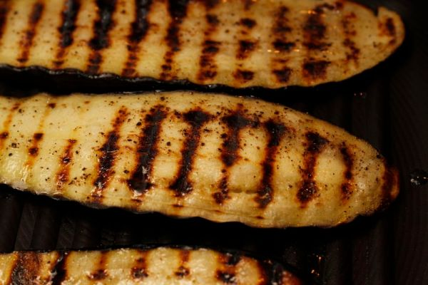 Aubergine Chargrilling