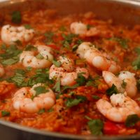 Prawn, Lime and Coriander Jambalaya