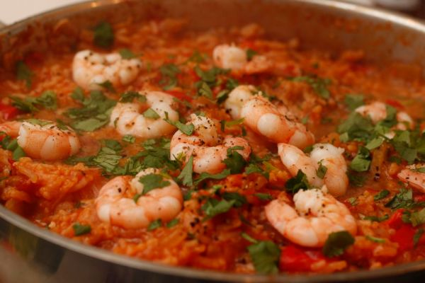 Prawn Lime Chilli Jambalaya